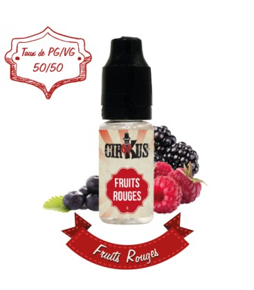Flacon E Liquide Fruits Rouges de Cirkus par VDLV