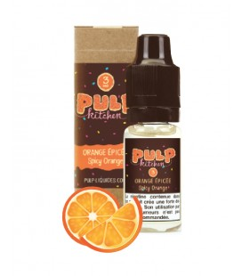 Flacon E Liquide Orange Epicée de Pulp Kitchen par PULP