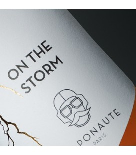 Flacon E Liquide en Verre On The Storm par Vaponaute