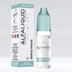 E liquide Alfaliquid Menthe Fraiche