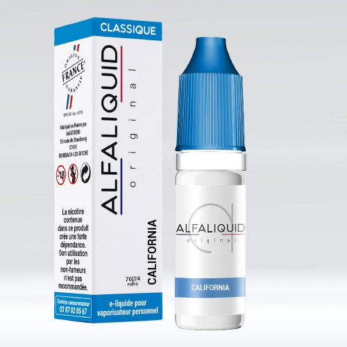 E Liquide California Alfaliquid