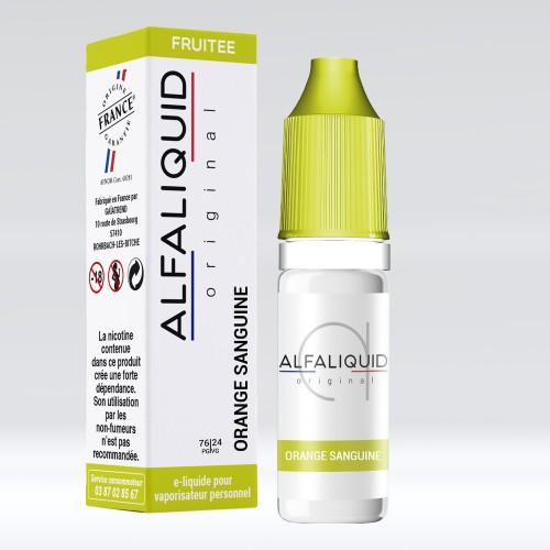 E Liquide Orange Sanguine Alfaliquid