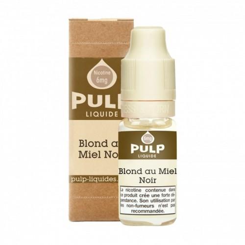 Flacon E Liquide 10ml Blond au Miel Noir par Pulp