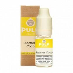 Flacon E Liquide 10ml Ananas Coco par Pulp