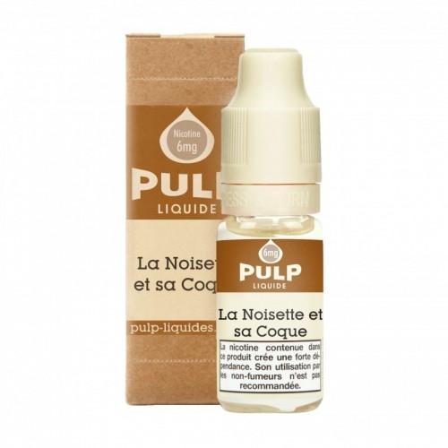 Flacon E Liquide 10ml Noisette et sa coque par Pulp