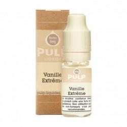 Flacon E Liquide 10ml Vanille extrême par Pulp