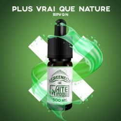 Pack avec Flacon E Liquide White Window Full Spectrum CBD de Greeneo
