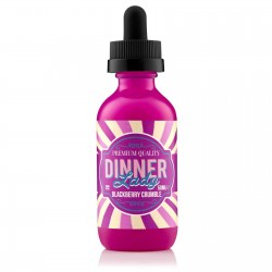 Flacon E Liquide PAB Blackberry Crumble de Dinner Lady