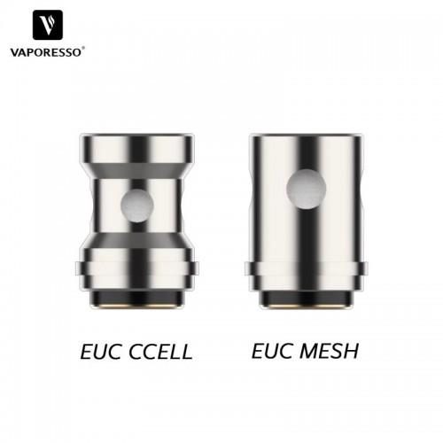 Résistance EUC VM de remplacement de Vaporesso CCELL 1.0 ohms et MESH 0.6 ohms