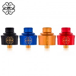 Atomiseur reconstructible RDA Single coil 22 divers coloris de la marque Dotmod