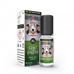Flacon E Liquide Sweet Garden au Sel de Nicotine de Guys and Bull