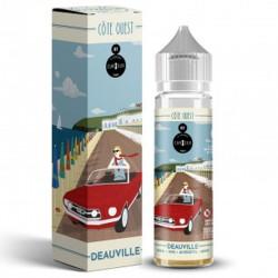 E Liquide Deauville Côte Ouest 50ml de la marque Curieux