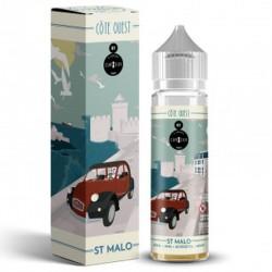 E Liquide St Malo Côte Ouest 50 ml de la marque Curieux