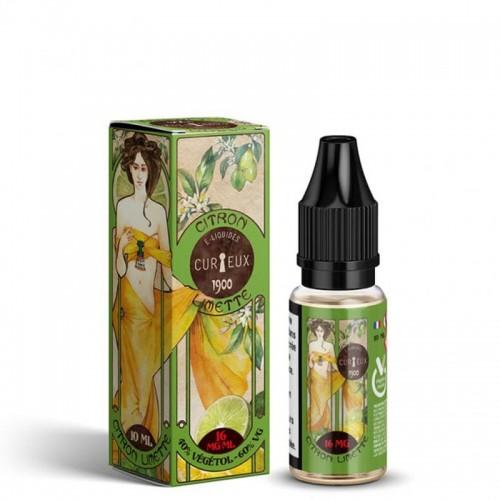 Natur'all E liquide Citron Limette 1900 Curieux avec vegetol inside