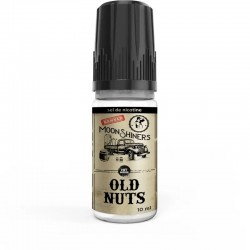 E liquide sel de nictoine gourmant 10 ml 50PG/50VG Old Nuts Moon shiners le french liquide